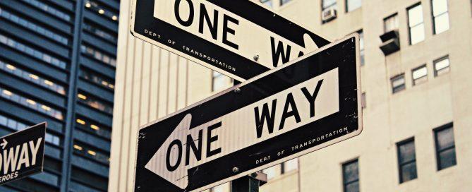 cartelli stradali a NYC